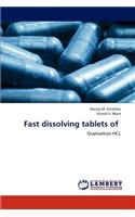 Fast Dissolving Tablets of