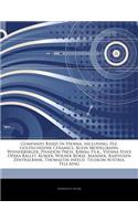 Articles on Companies Based in Vienna, Including: Pez, Goldscheider Ceramics, Klein Modellbahn, Wienerberger, Phaidon Press, Bawag P.S.K., Vienna Stat