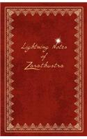 Lightning Notes of Zarathustra