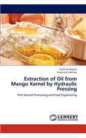 Extraction of Oil from Mango Kernel by Hydraulic Pressing