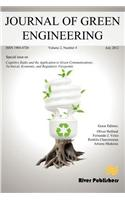 Journal of Green Engineering- Special Issue