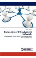 Evaluation of Lte-Advanced Networks