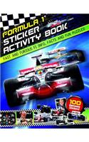Formula 1 Sticker Activity Book