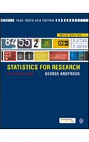 Statistics for Research: With a Guide to SPSS
