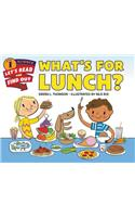 What's for Lunch? : Let's Read and Find out Science 1
