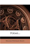 Poems...