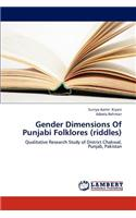 Gender Dimensions of Punjabi Folklores (Riddles)