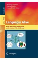 Languages Alive: Essays Dedicated to Jurgen Dassow on the Occasion of His 65th Birthday