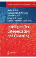 Intelligent Text Categorization and Clustering