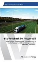 Eco-Feedback Im Automobil