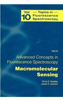 Advanced Concepts in Fluorescence Sensing: Part B: Macromolecular Sensing