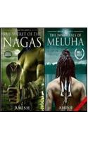 The Secret Of The Nagas &amp; The Immortals Of Meluha (set Of 2 Books)