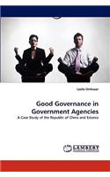 Good Governance in Government Agencies