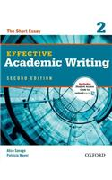 Effective Academic Writing 2: The Short Essay