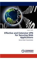 Effective and Extensive VPN for Securing Web Applications