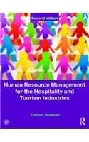 Human Resource Management for the Hospitality and Tourism In