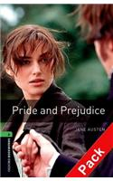 Oxford Bookworms Library: Stage 6: Pride and Prejudice Audio CD Pack