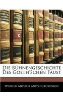 Die B Hnengeschichte Des Goeth&#39;schen Faust