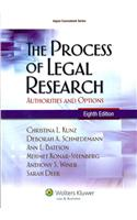 The Process of Legal Research: Authorities and Options