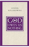 God Owes Us Nothing: A Brief Remark on Pascal's Religion and on the Spirit of Jansenism