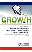 Growth Potential and Constraints of Micro and Small Enterprises