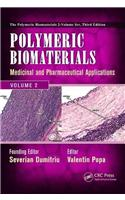Polymeric Biomaterials: Medicinal and Pharmaceutical Applications, Volume 2