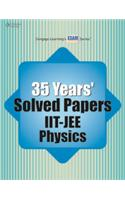 35 Year' Solved Papers IIT JEE: Physics