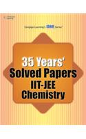 35 Year' Solved Papers IIT JEE: Chemistry