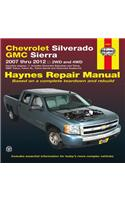 Chevrolet Silverado & GMC Sierra: 2007 Thru 2012 2wd and 4WD