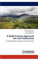 Multi-Criteria Approach for Job Preferences