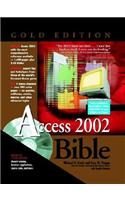 Access 2002 Bible [With CDROM]