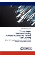 Transparent Semiconducting Nanostructures by Sol-Gel Dip Coating