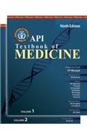 API Textbook of Medicine(Set of 2 Volumes) 9 Edition