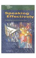 Speaking Effectively (EOU Version) Book and Audio CD Pack India: Developing Speaking Skills for Business English