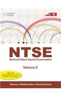 Ntse Vol Ii: Science, Mathematics And Social Science