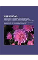Marathons: Marathons by Year, Marathons in Argentina, Marathons in Australia, Marathons in Canada, Marathons in China, Marathons