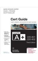 CompTIA A+ 220-801 and 220-802 Authorized Cert Guide [With DVD]