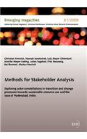 Methods for Stakeholder Analysis