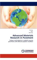 Advanced Materials Research in Pavement