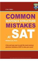 Columbia Common Sentence Structure Mistakes at SAT