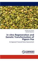 In Vitro Regeneration and Genetic Transformation of Pigeon Pea