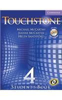 Touchstone Student's Book Level 4 [With CD-ROM/Audio CD]
