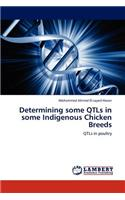 Determining Some Qtls in Some Indigenous Chicken Breeds