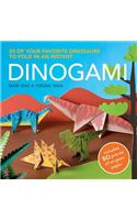 Dinogami: 25 of Your Favorite Dinosaurs to Fold in an Instant [With 50 Pieces of Origami Paper]