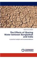 Effects of Sharing Water Between Bangladesh and India