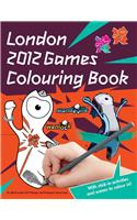 London 2012 Sticker Colouring Book