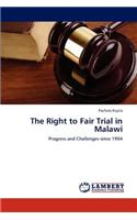 Right to Fair Trial in Malawi
